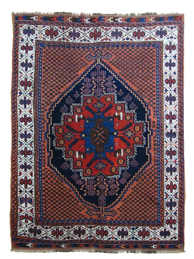 Handmade Persian Afshar (Antique)