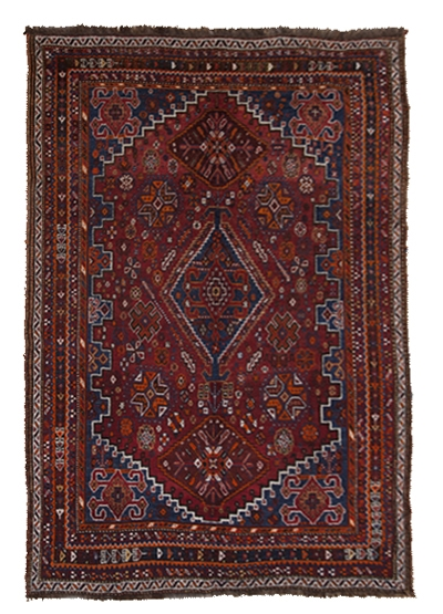 Handmade Persian Qashqai (Antique)