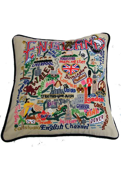 Handmade England Cushion