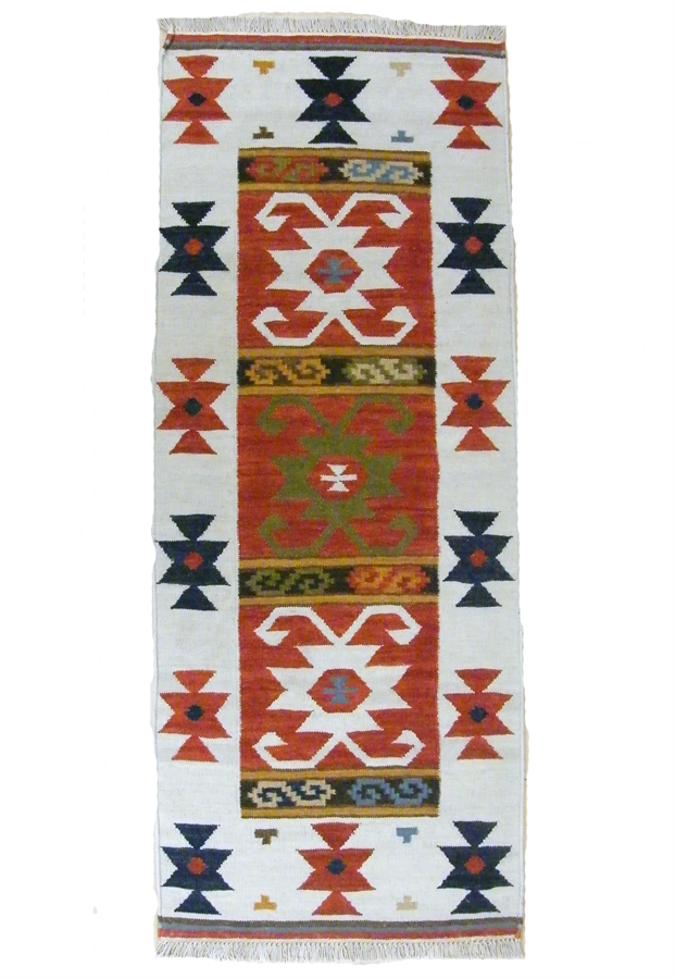 Handmade Persian Shiraz Runner