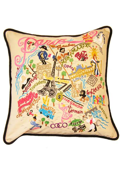 Handmade Paris Cushion